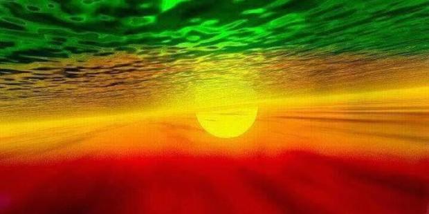 Ethiopian flag 2014