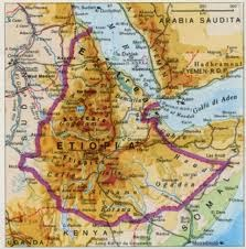 Ethiopia map