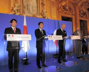japan and france