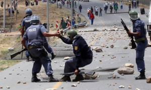 Farmworkers protest in South Africa