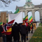 THE BRUSSELS ETHIOPIAN HISTORICAL MARCH!