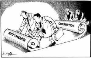 Is There Connection Between Corruption and Democracy?