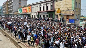 Ethiopians calling for Protest