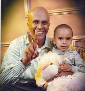 Eskinder and son
