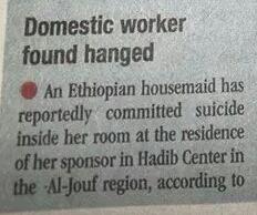 eth woman hanged