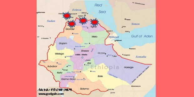 four front map
