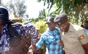 Besigye Arrested